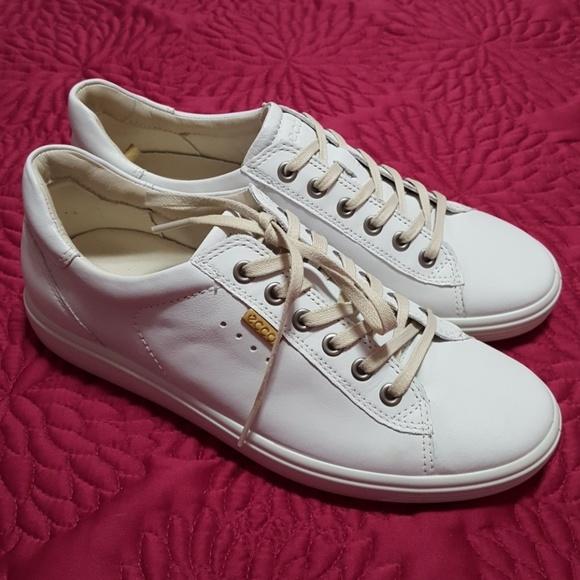 Ecco Shoes | Ecco Soft 7 White Sneakers